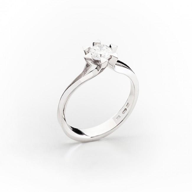6cc7669ef Zásnubný dámsky briliantový prsteň - ZLATOKOV